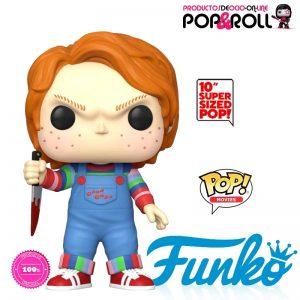 FIGURA funko CHUCKY 25 cm de la serie POP MOVIES Ociopoproll