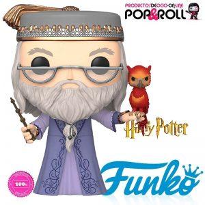 FIGURA funko DUMBLEDORE con Fawkes de HARRY POTTER Ociopoproll