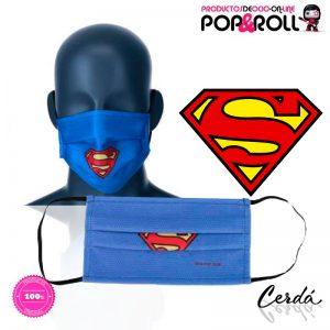 mascarilla-azul-superman-dc-comics-talla-adultos-cadetes-nino-nina-imagen-destacada