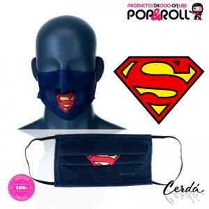 mascarilla-higienica-azul-marino-superman-dc-comics-talla-adultos-cadetes-o-ninos-imagen-destacada