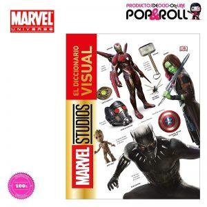LIBRO Diccionario visual de Marvel Tapa Dura